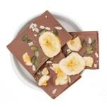 1001 Frucht - Viel Glück - Bio Schokolade- Banana Kürbis Sonnenblumenkerne 90g