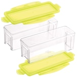 Genius Nicer Dicer Magic Cube gourmet Auffangbehälter 4 Teile