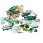 Genius Nicer Dicer Chef Deluxe-Set 34-tlg. grün