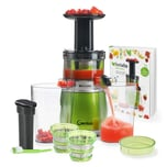 Genius Feelvita Slow Juicer Deluxe-Set 15 Teile
