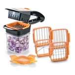 Genius Nicer Dicer Quick Zerkleinerer orange