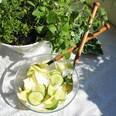 Sagaform Salatbesteck Oak braun