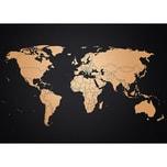 Awesome Maps Kupfer Weltkarte
