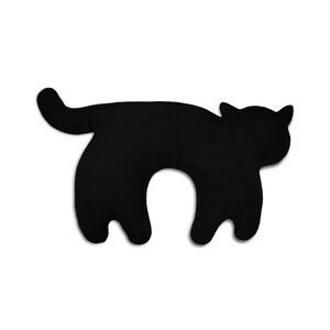 Leschi Nackenkissen Katze Feline schwarz