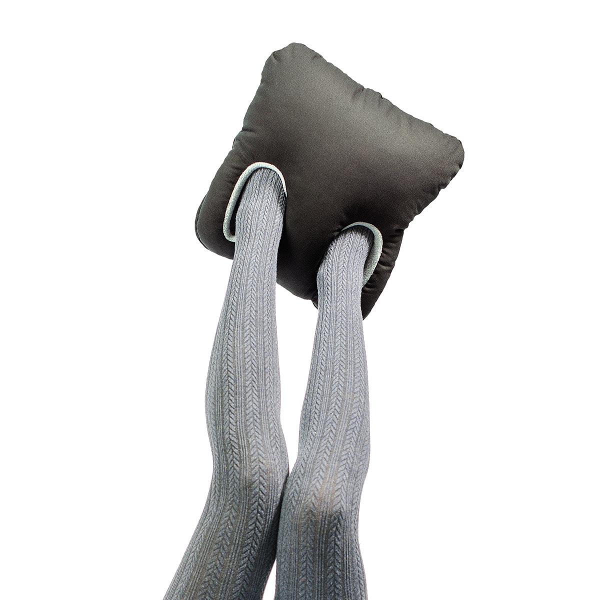 Leschi Fuß-Muff schwarz