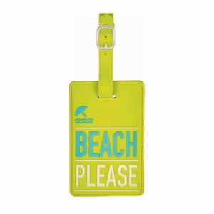 moses. Verlag Fernweh Kofferanhänger beach please