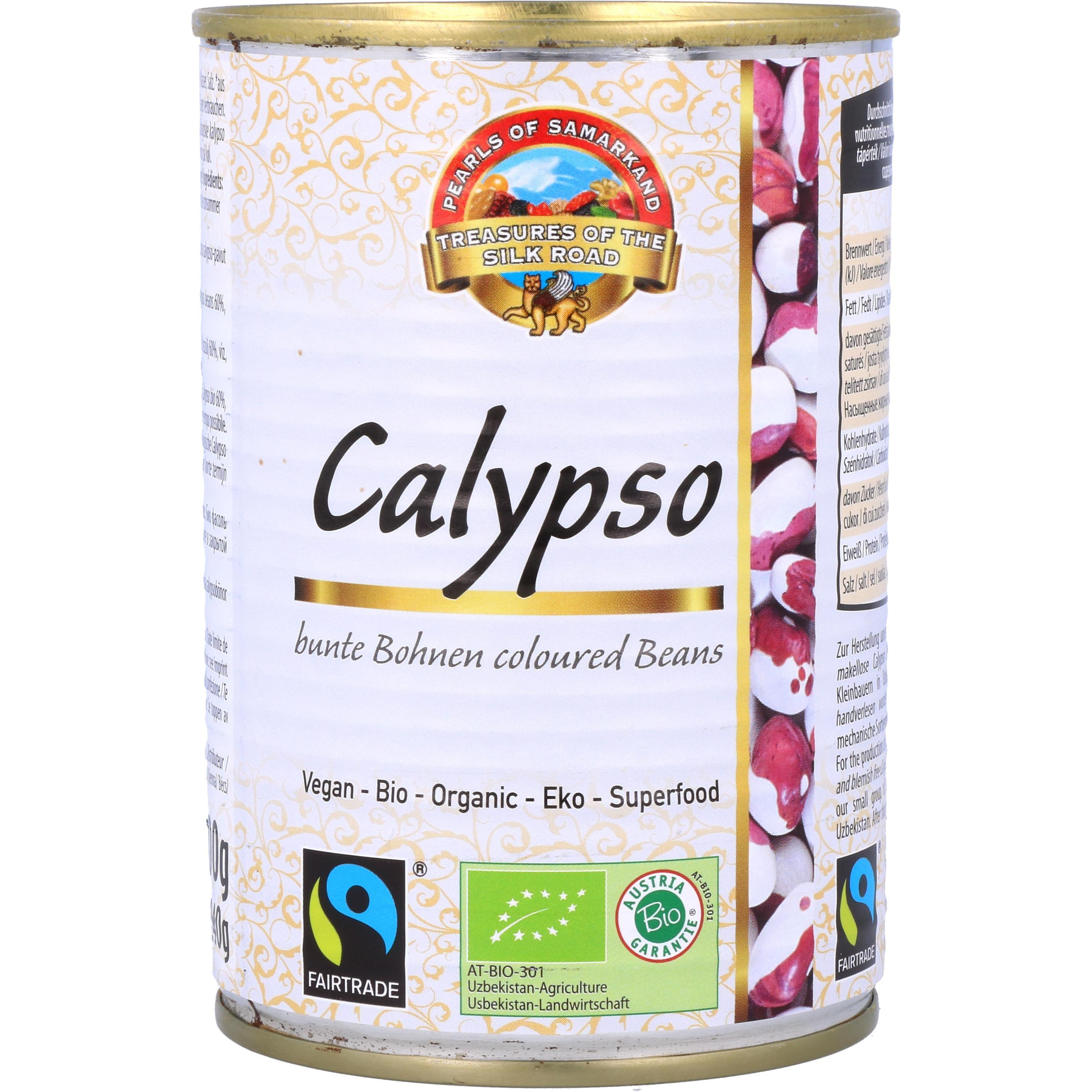 Lemberona Bio Calypso Bohnen in der Dose 400g