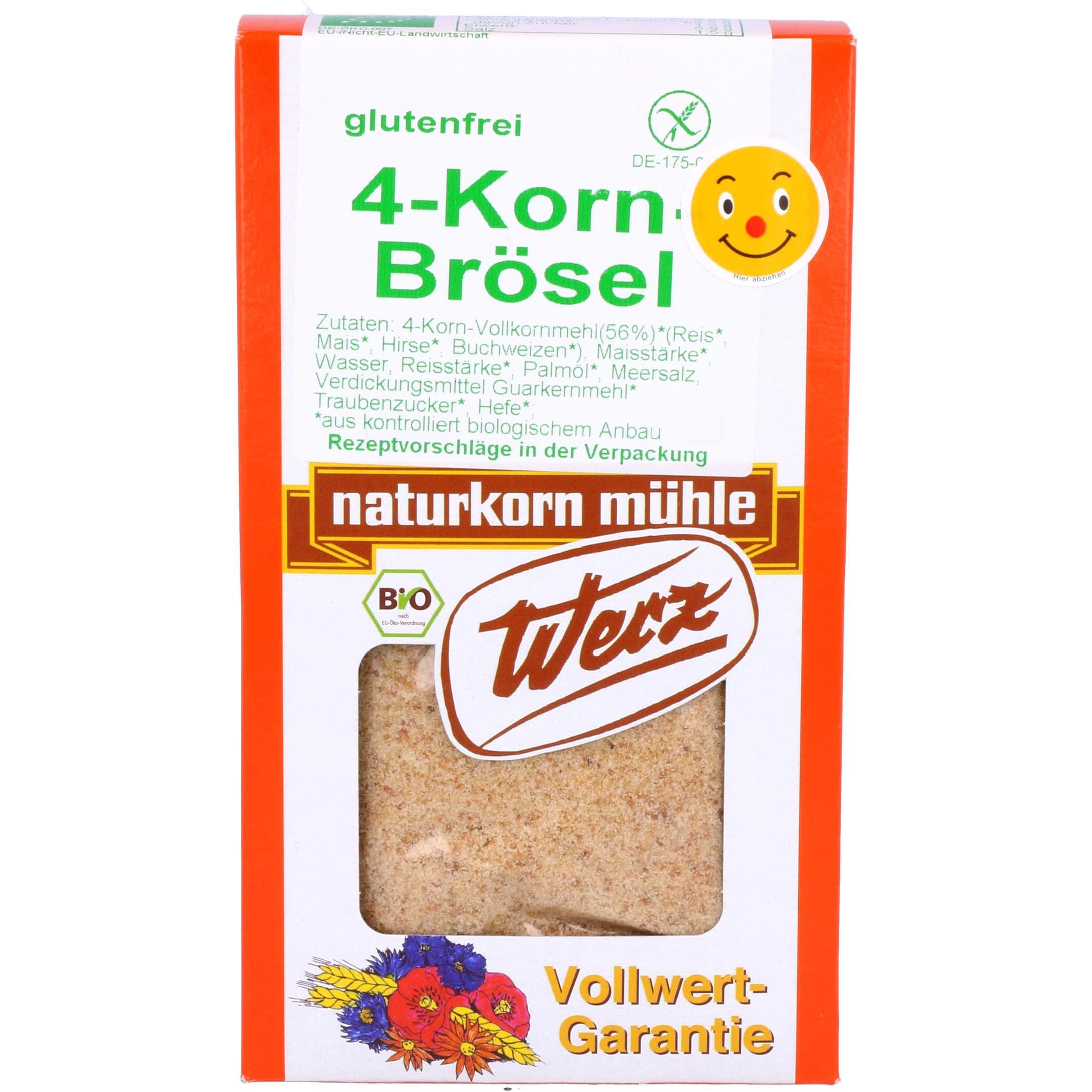 Werz Bio 4-Korn-Brösel 200g