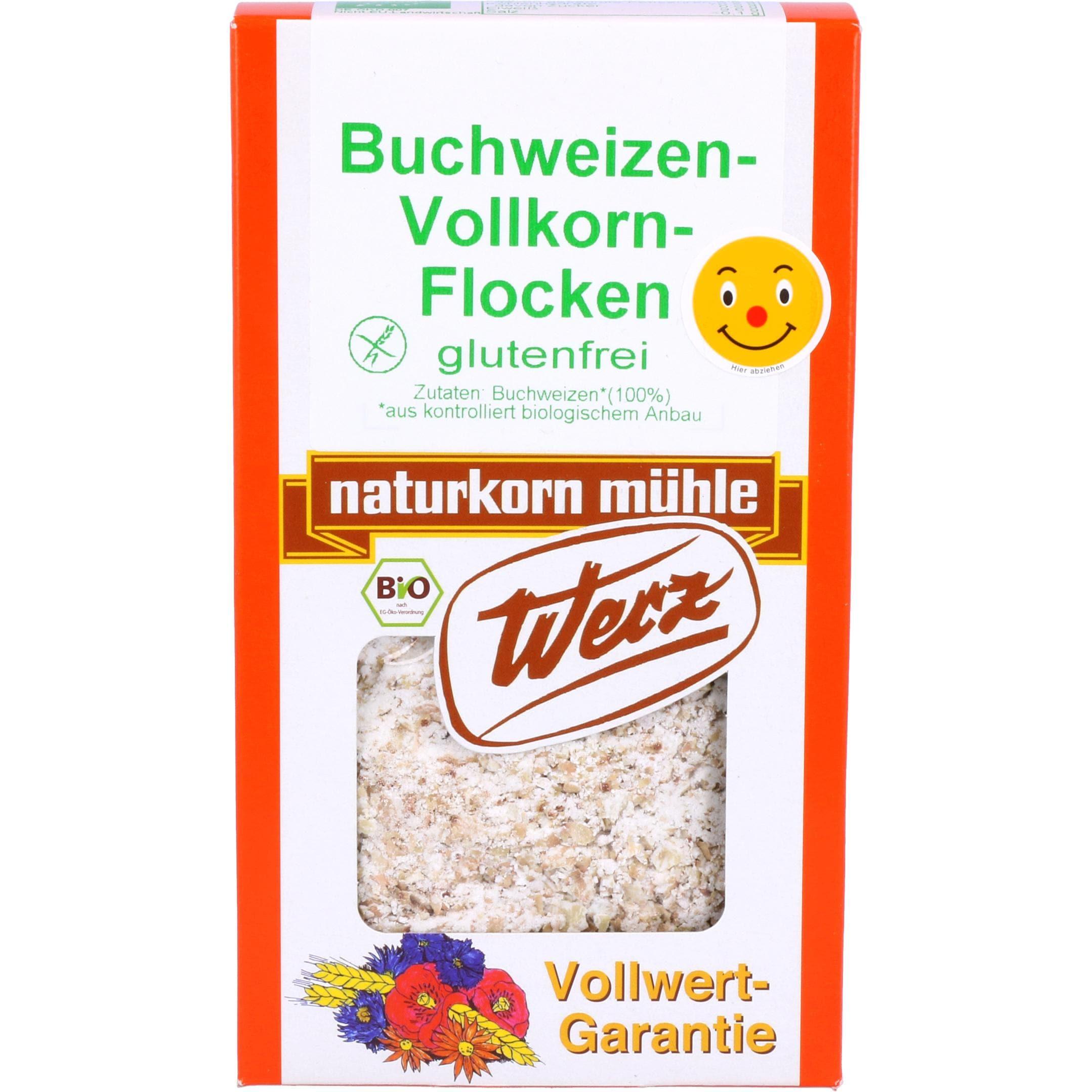 Werz Bio Buchweizen Vollkorn-Flocken 250g