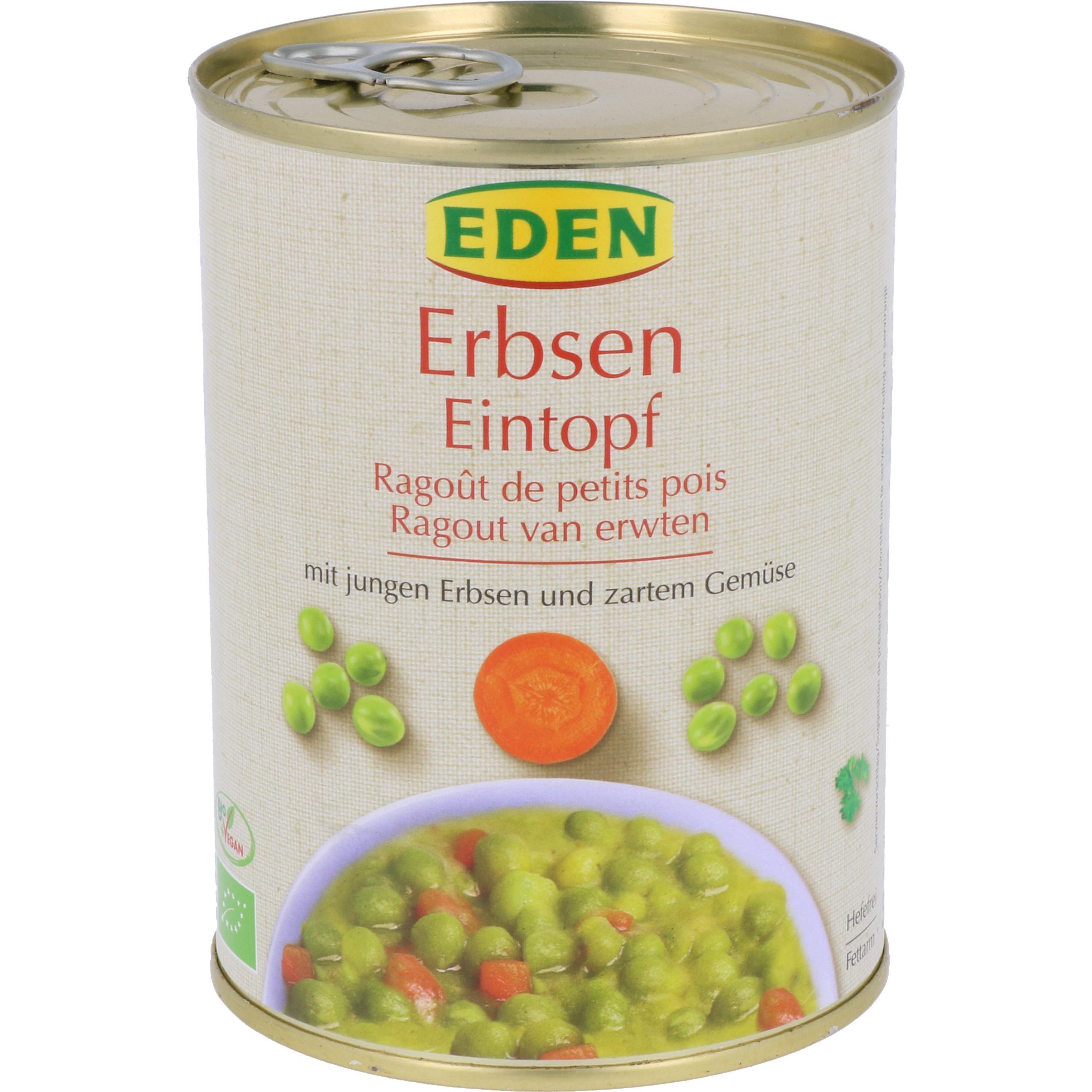 Eden Bio Erbsen Eintopf 560g