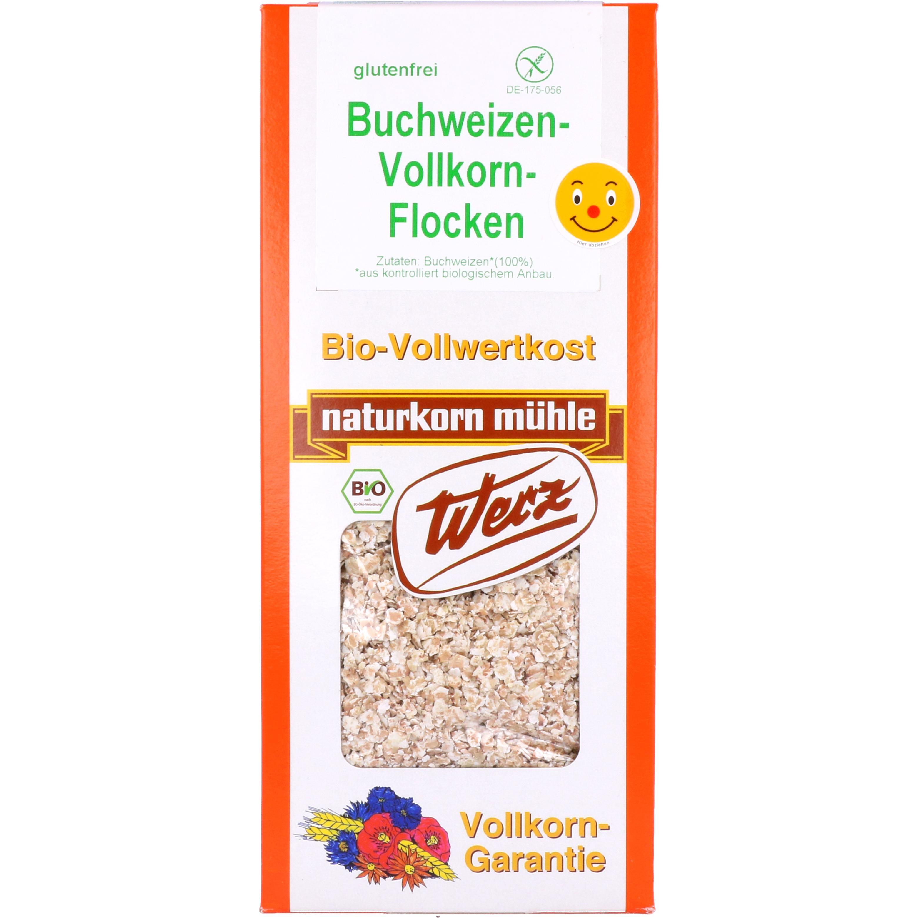 Werz Bio Buchweizen-Vollkorn-Flocken 750g