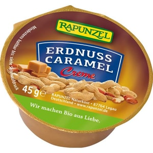 Rapunzel Erdnuss Caramel Creme 45g
