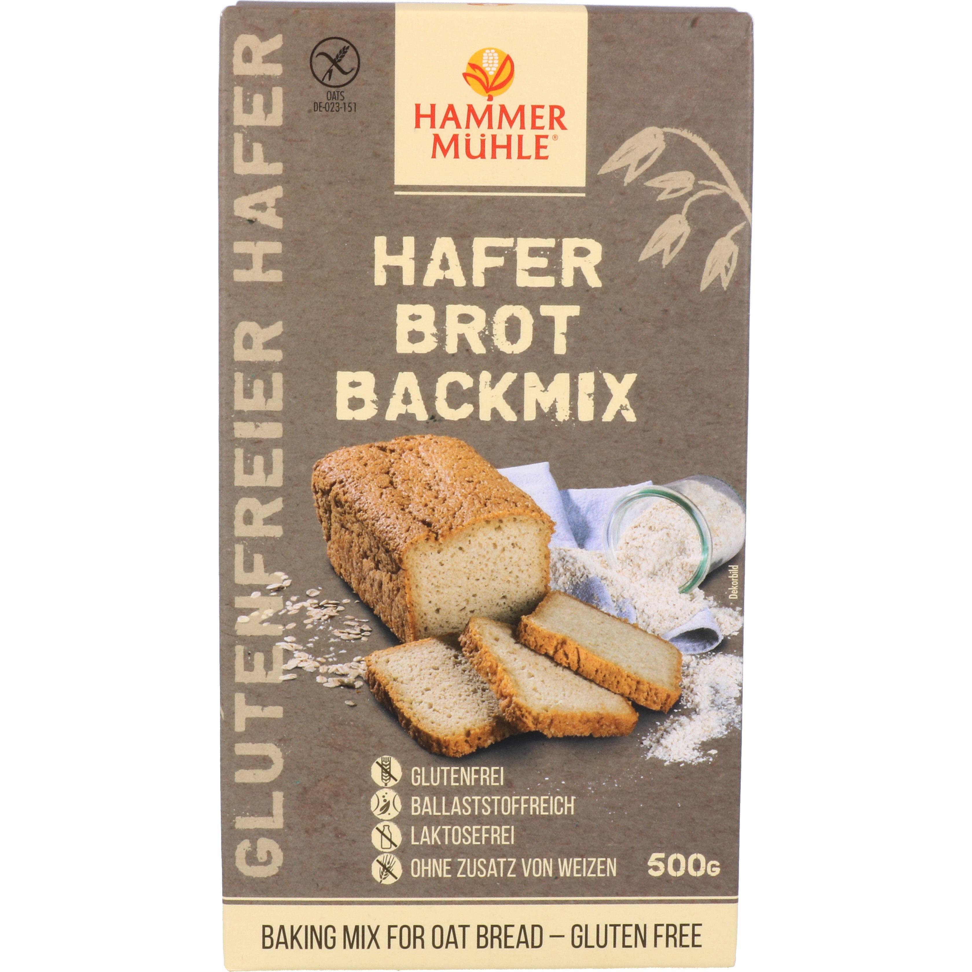 Hammermühle Hafer Brot Backmix 500g