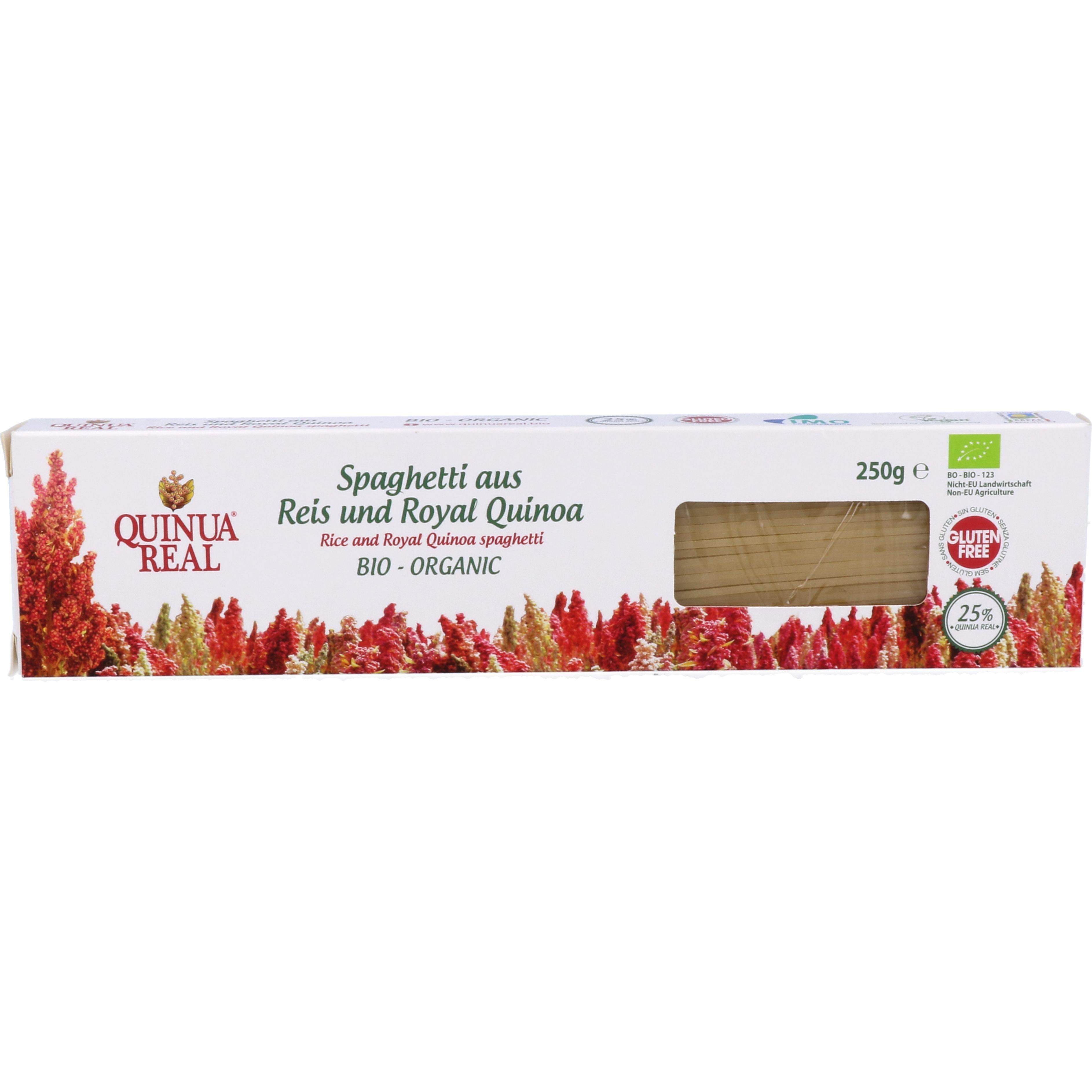 Quinua Real Bio Spaghetti aus Reis und Royal Quinoa 250g