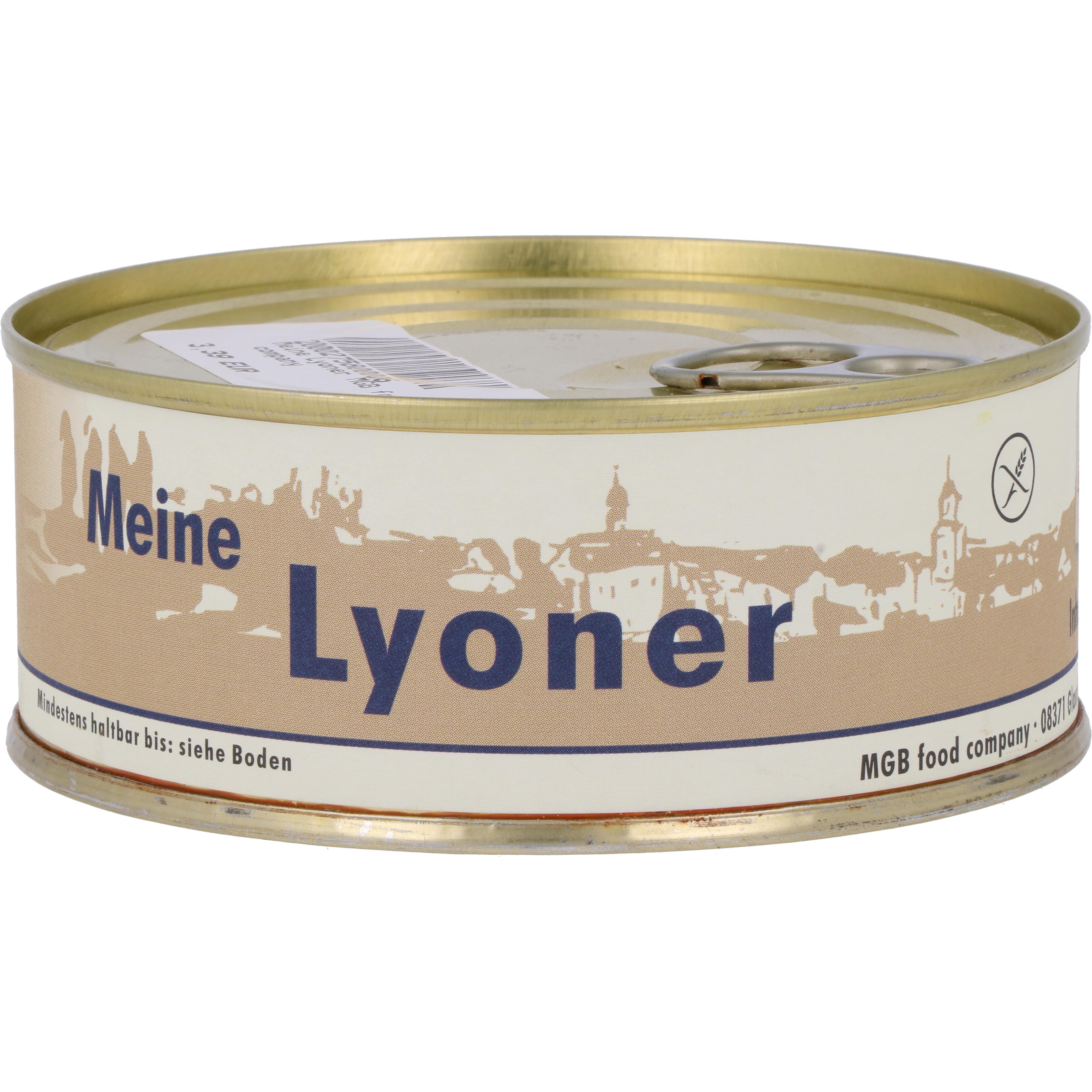 MGB food company Meine Lyoner 220g
