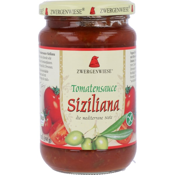 Zwergenwiese Bio Tomatensauce Siziliana 340ml