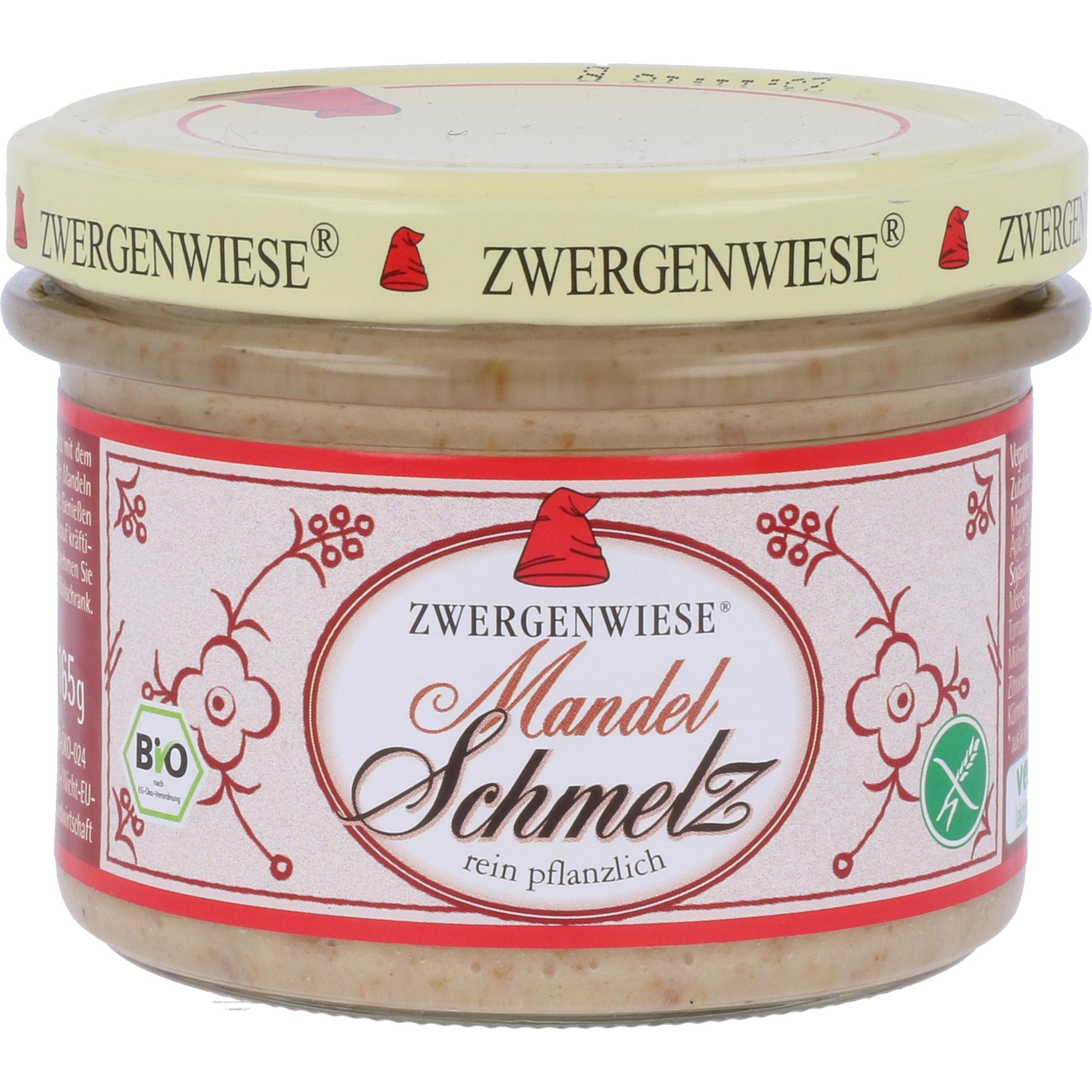 Zwergenwiese Bio Mandel Schmelz 165g