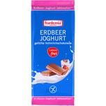 Frankonia Erdbeer-Joghurt laktosefreie Schokolade 100g