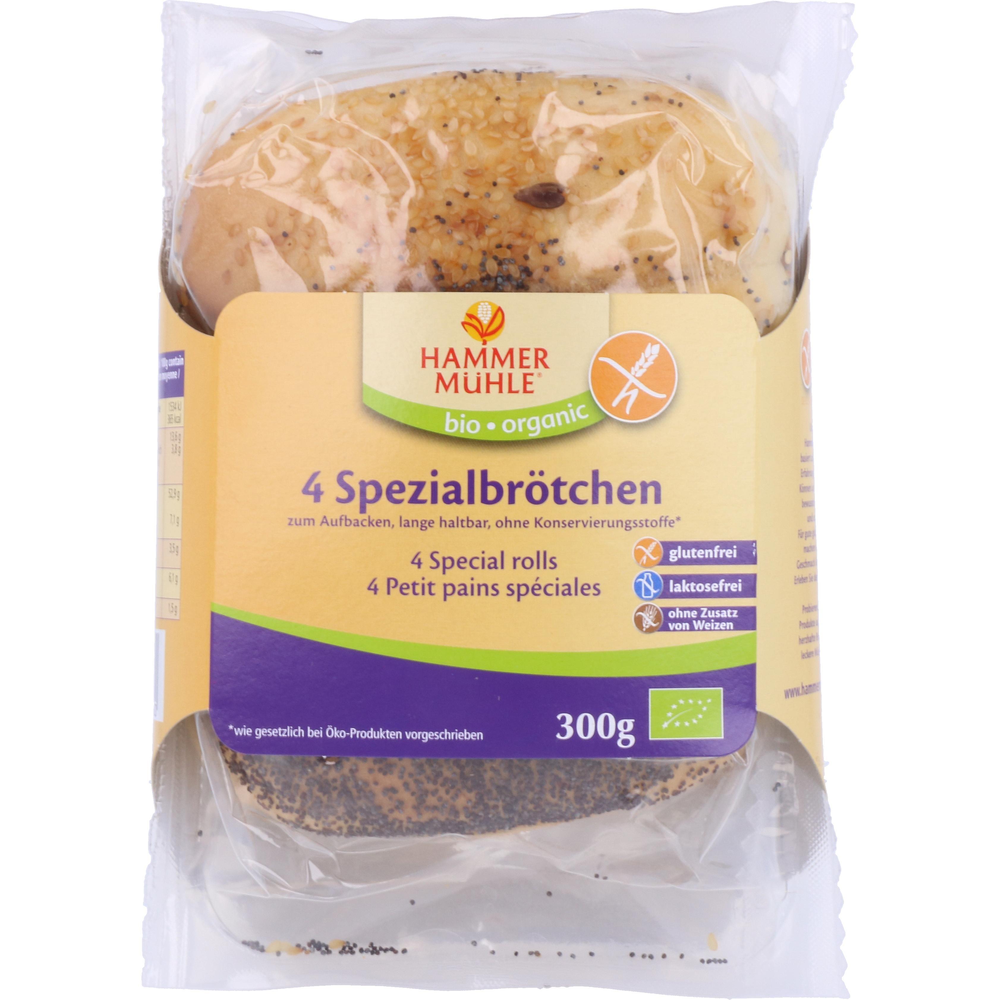 Hammermühle Organic Bio 4 Spezialbrötchen 300g