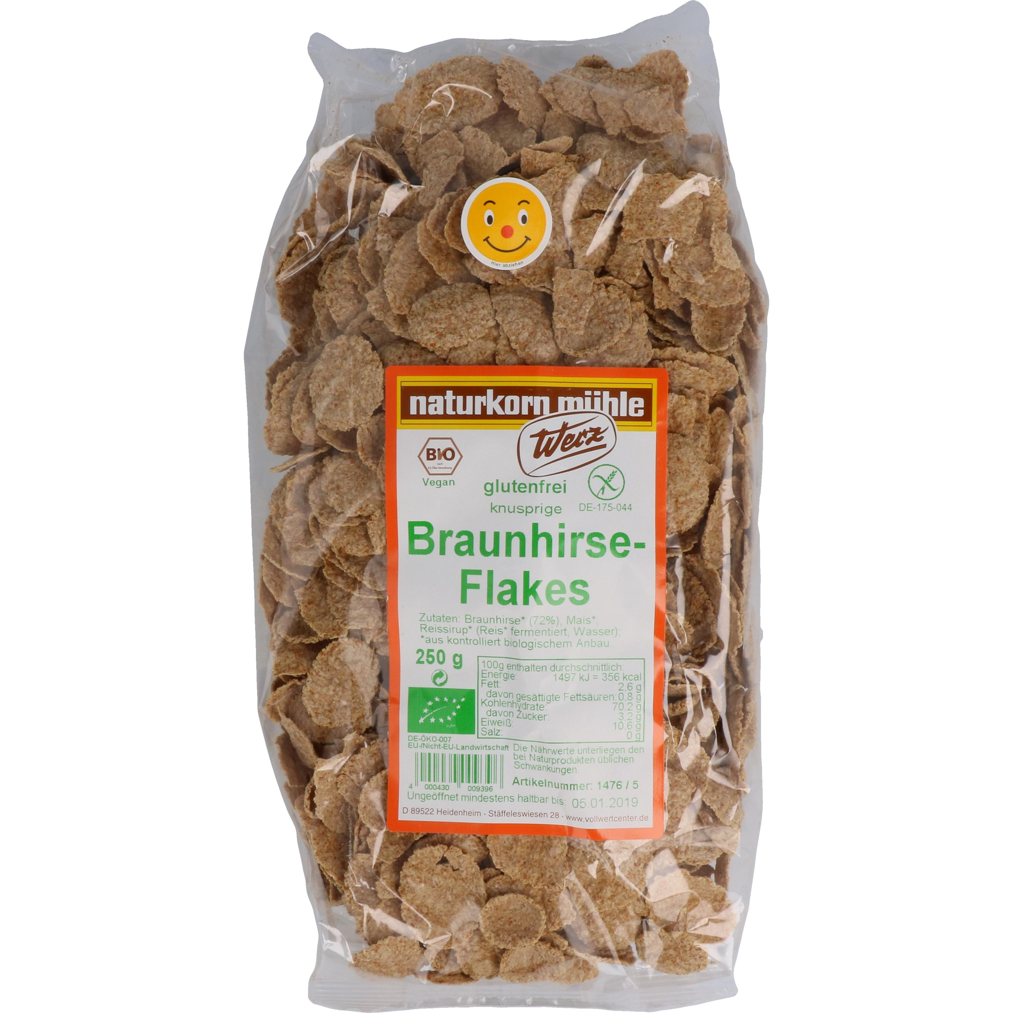 Werz Bio Braunhirse Flakes 250g