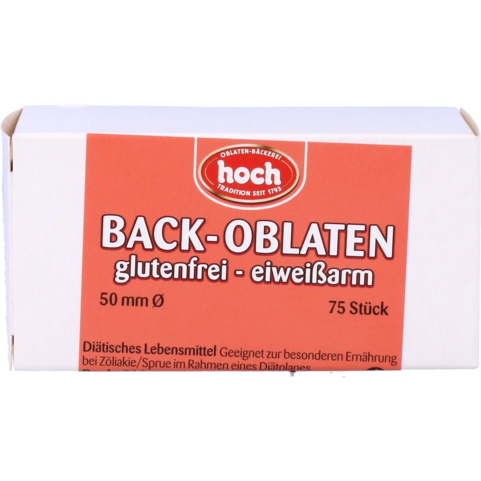 Hoch Back-Oblaten klein 25g