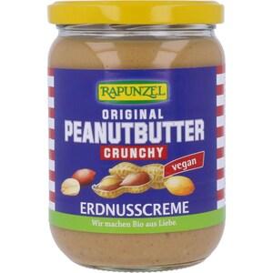 Rapunzel Bio Crunchy Peanutbutter 500g