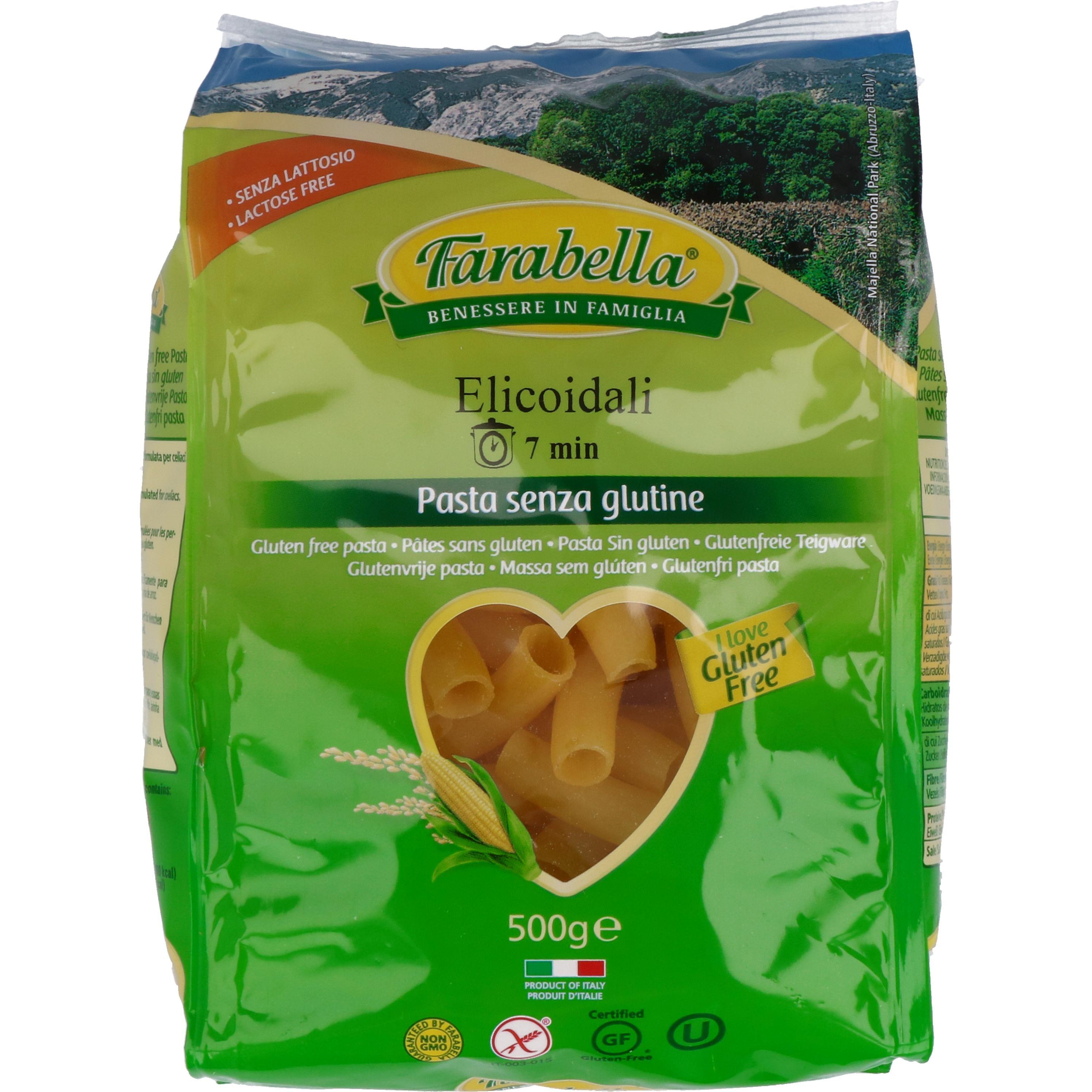 Farabella Elicoidali Rigatoni 500g