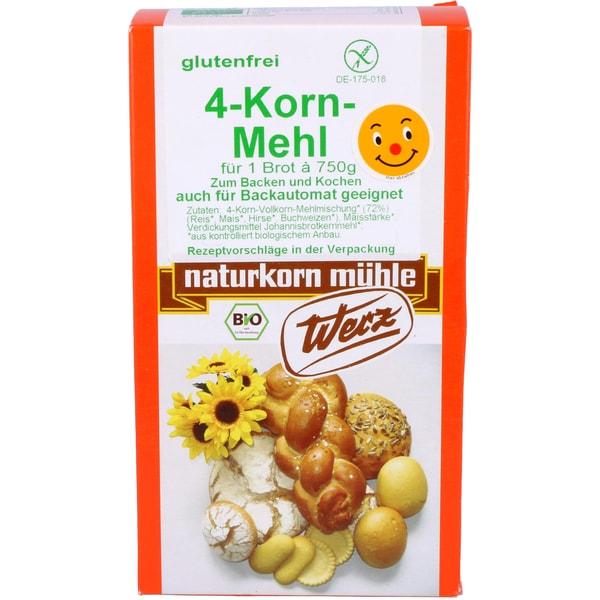 Werz Bio 4-Korn-Mehl 500g