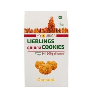 Quinua Real Lieblings Quinoa Cookies Coconut 200g