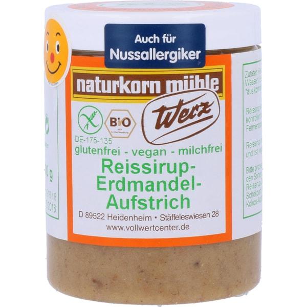 Werz Bio Reissirup-Erdmandel-Aufstrich 300g