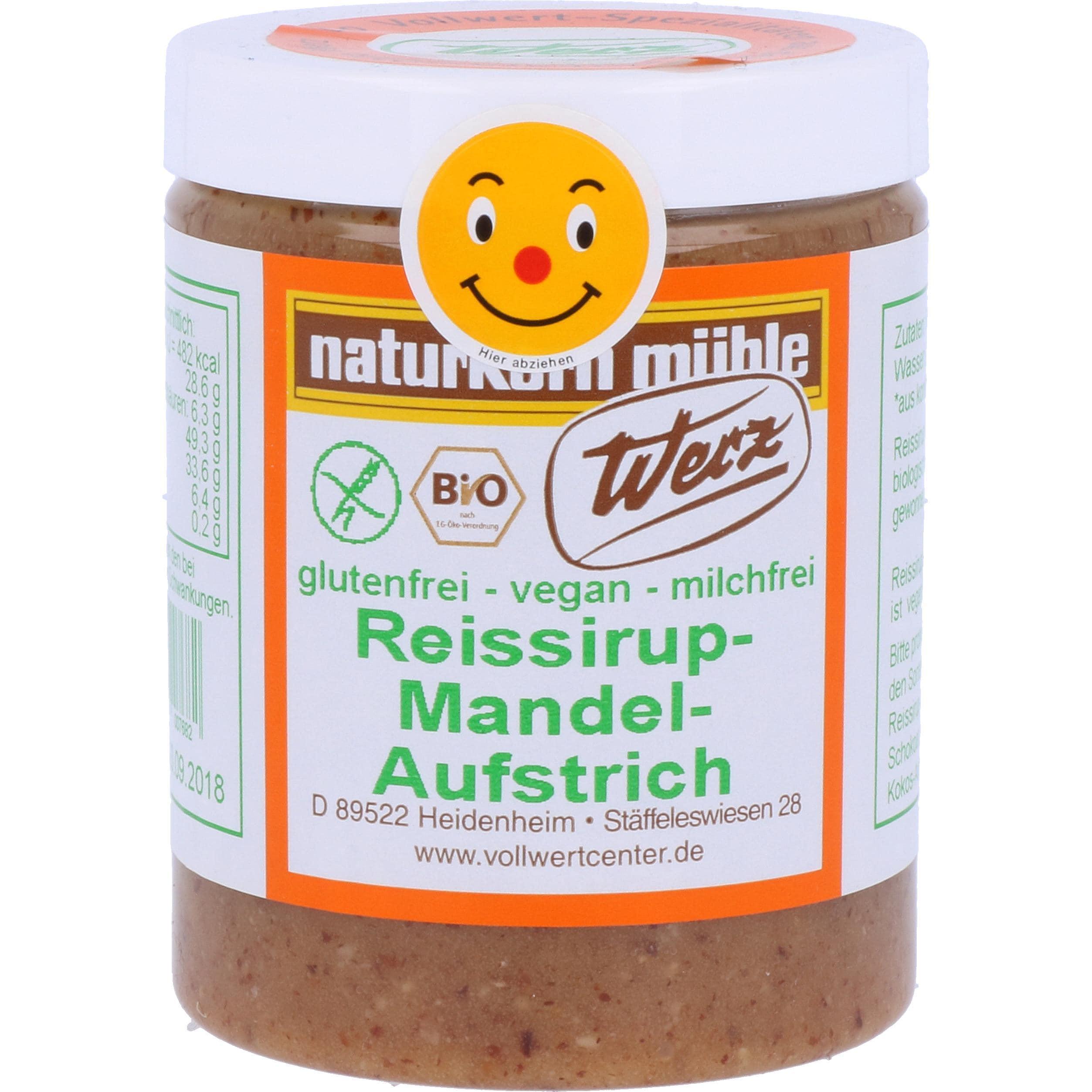 Werz Bio Reissirup Mandel Aufstrich 300g