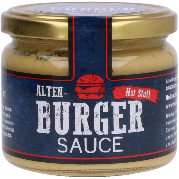 Altenburger Alten- Burger Sauce Hot Stuff 250ml