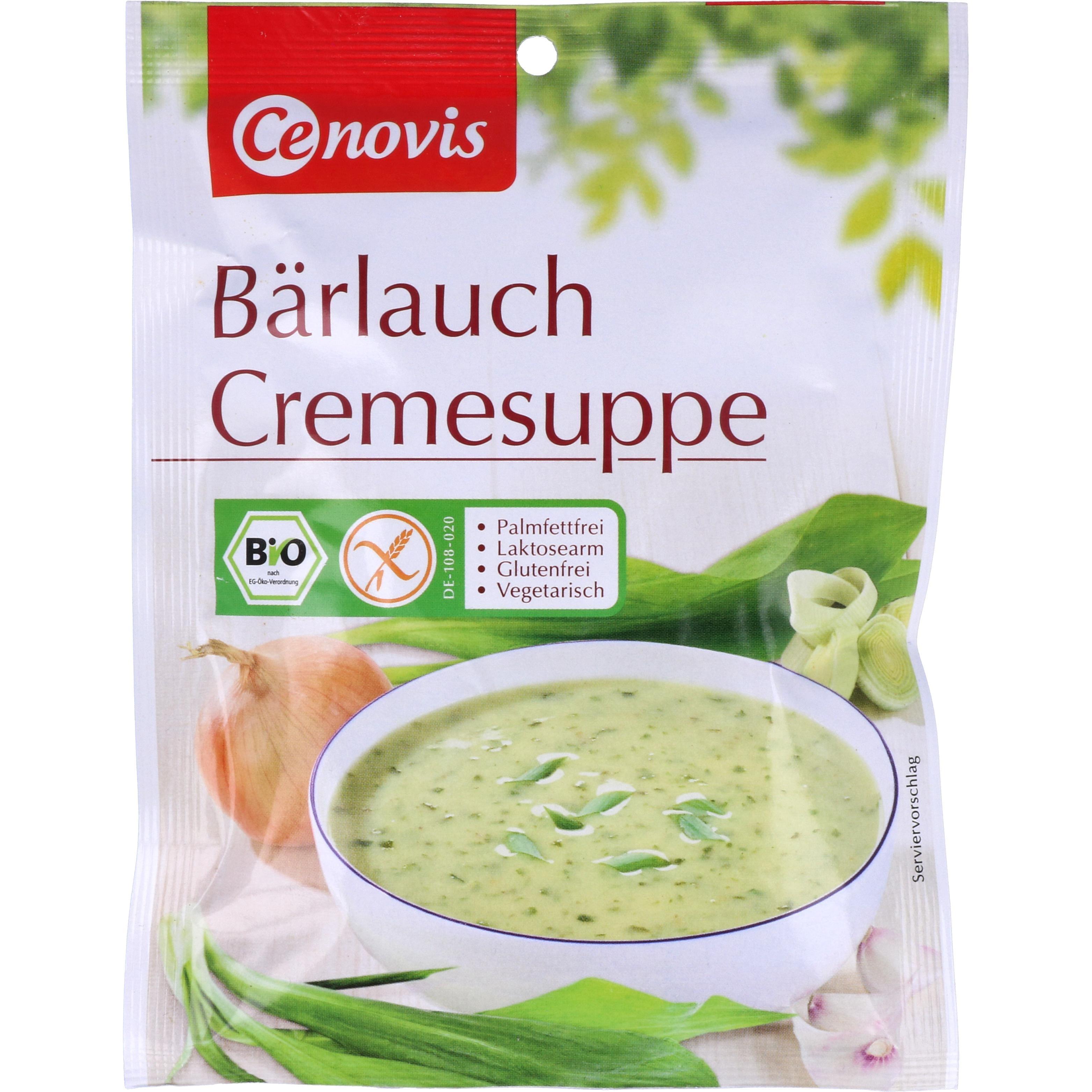 Cenovis Bio Bärlauch Cremesuppe 60g