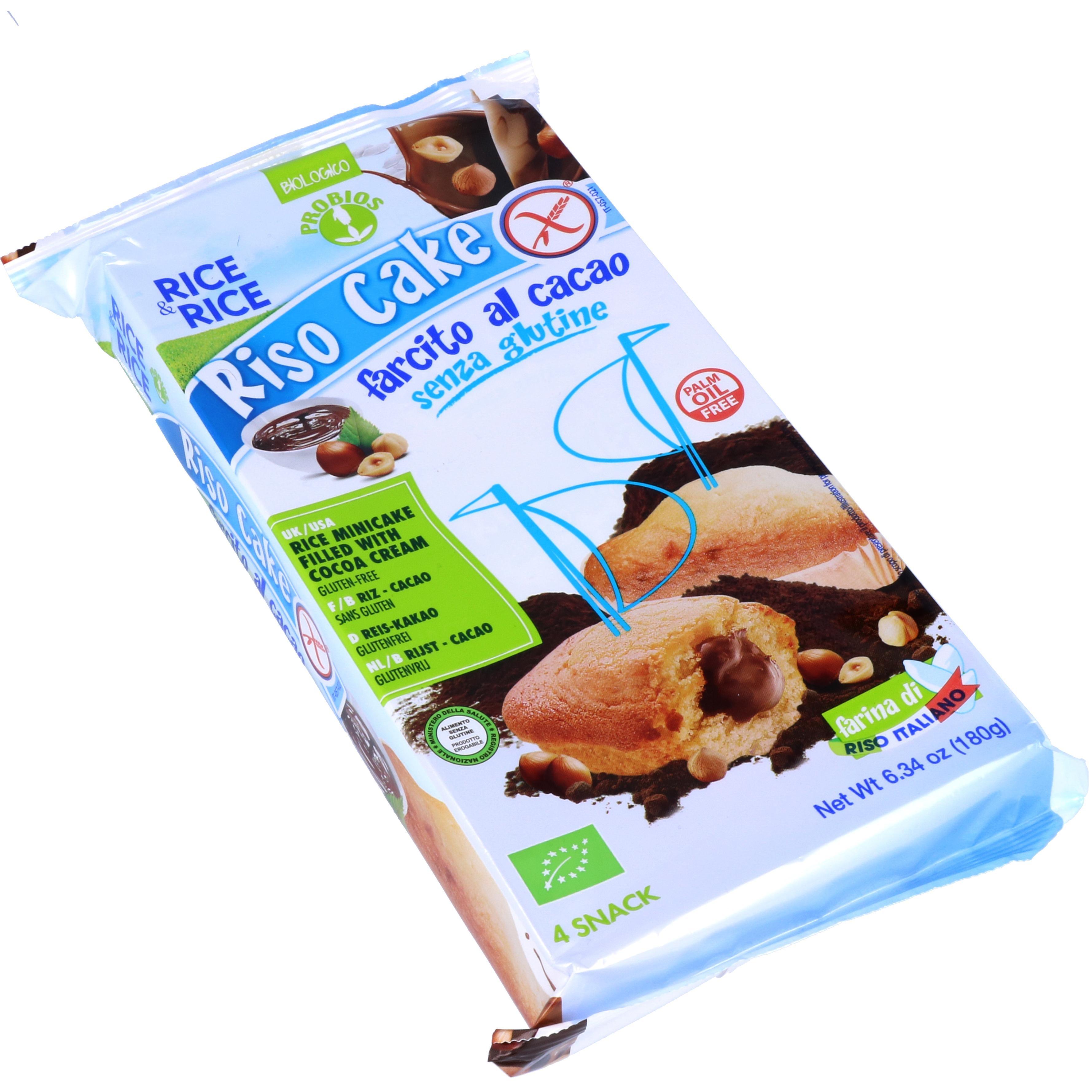 Probios Bio Reis-Minikuchen mit Kakao (Riso Cake) 180g