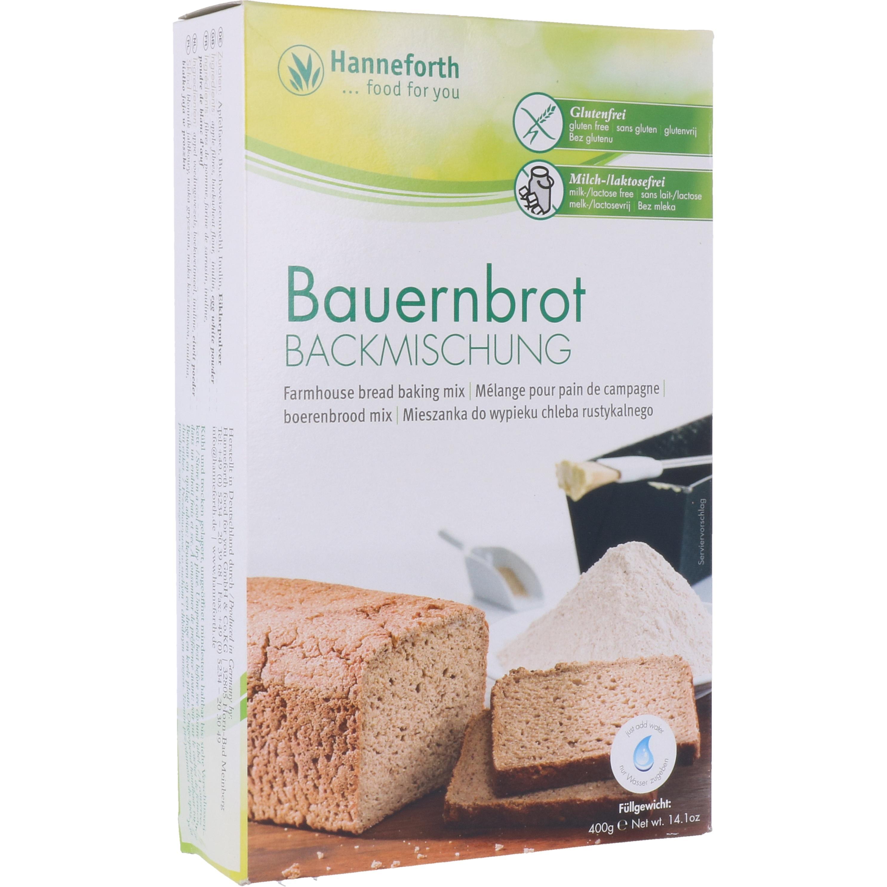 Hanneforth, food for you Backmischung für Bauernbrot 400g