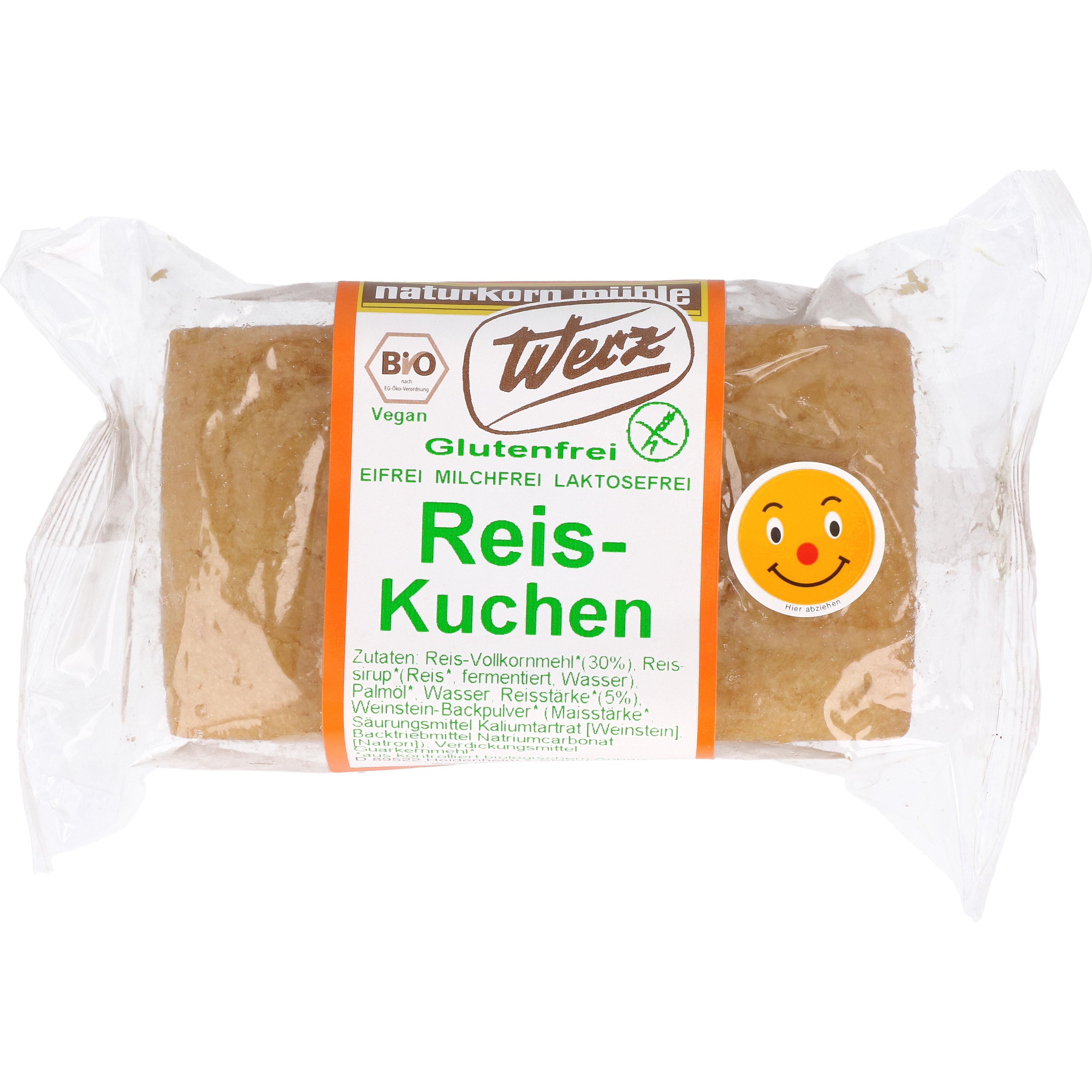 Werz Bio Reis-Kuchen 300g