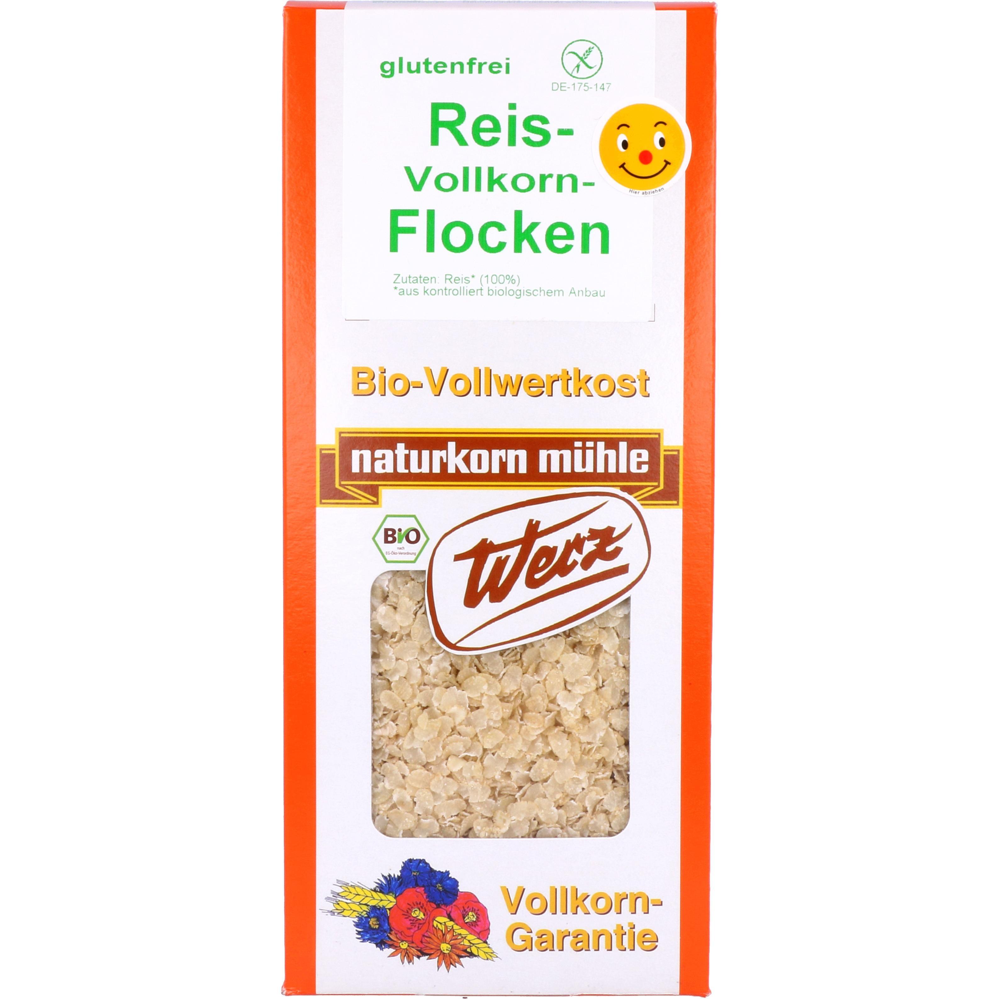 Werz Bio Reis Vollkorn Flocken 250g