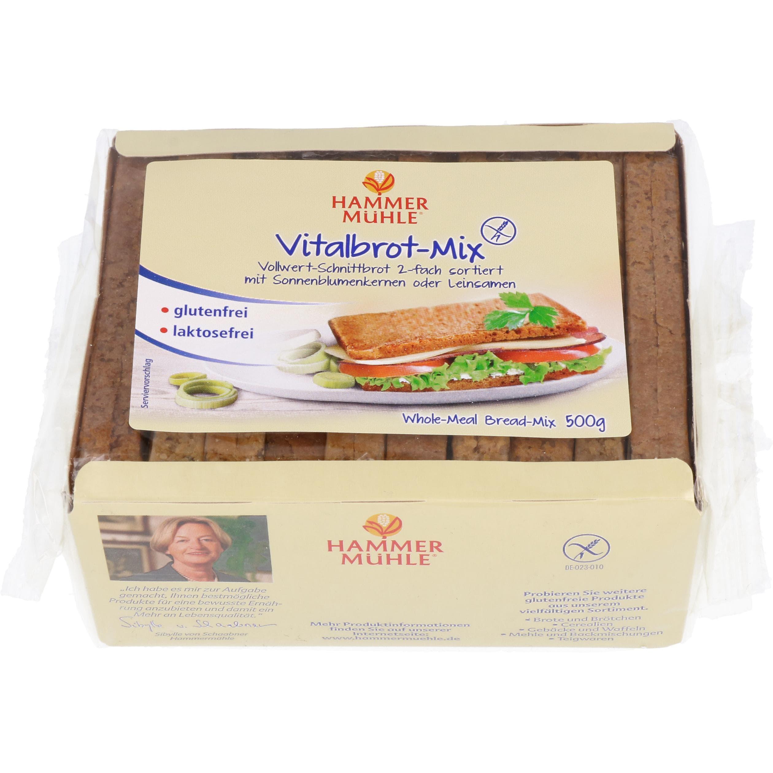 Hammermühle Vitalbrot-Mix 500g
