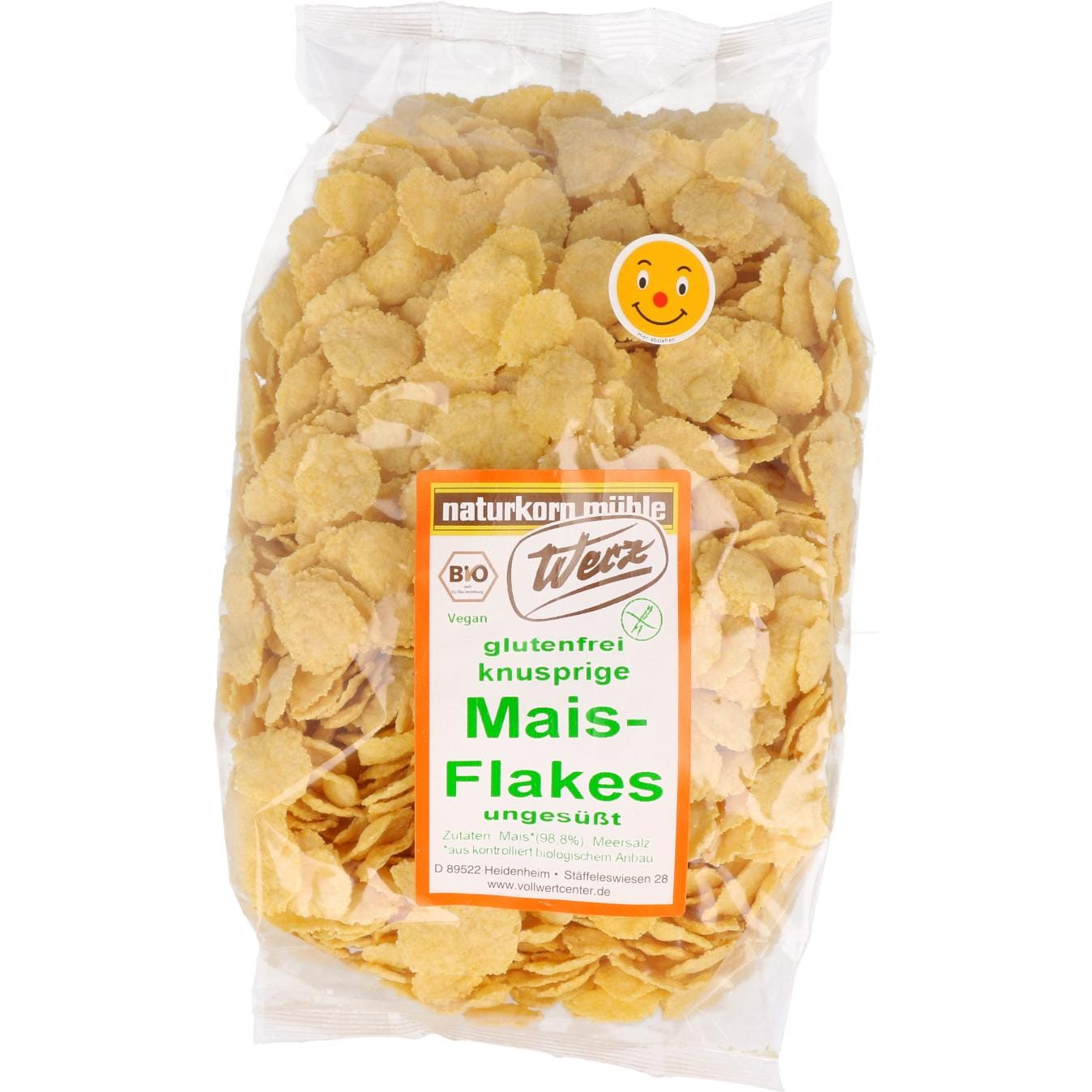 Werz Bio Mais Flakes ungesüßt 250g