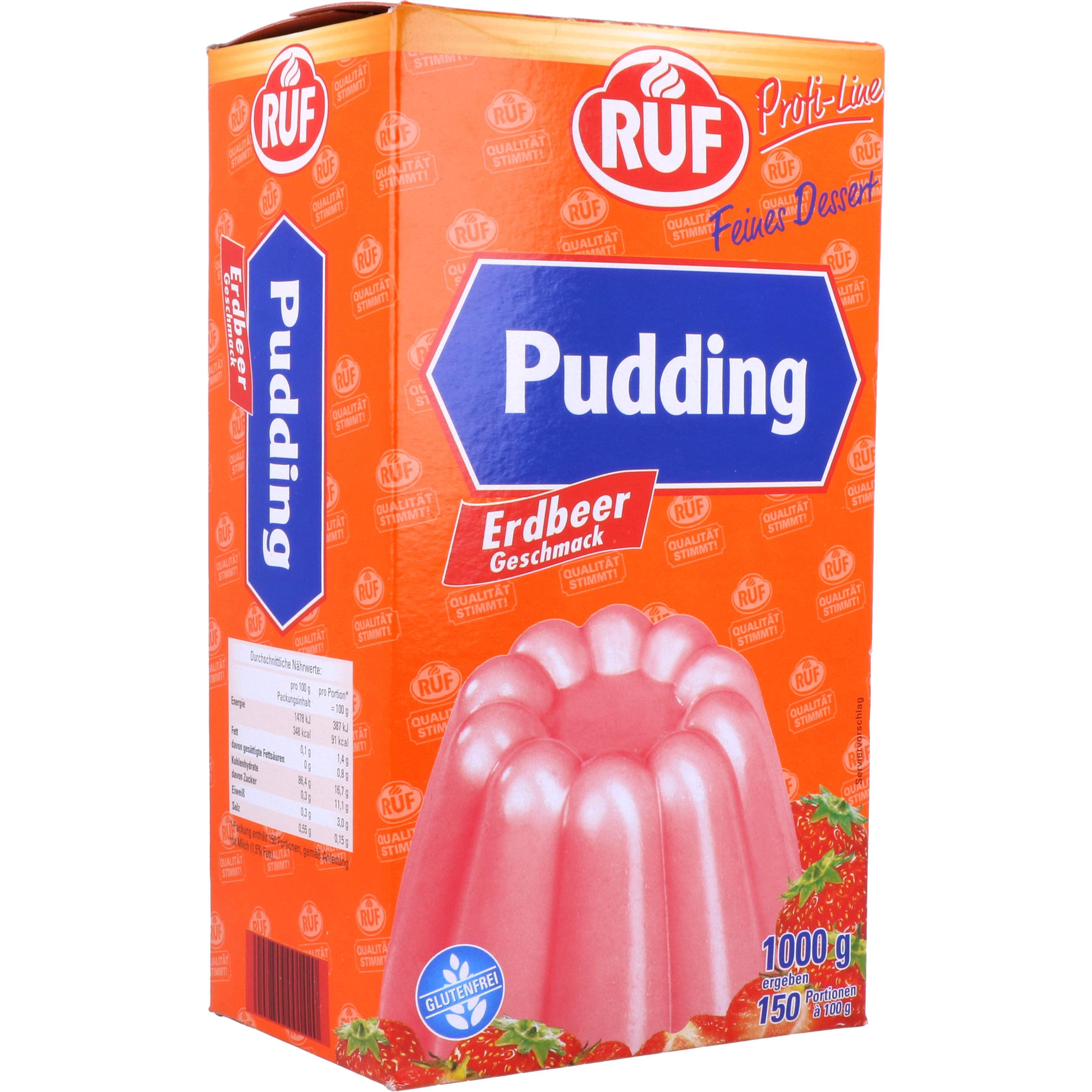 Ruf Puddingpulver Erdbeer 1kg