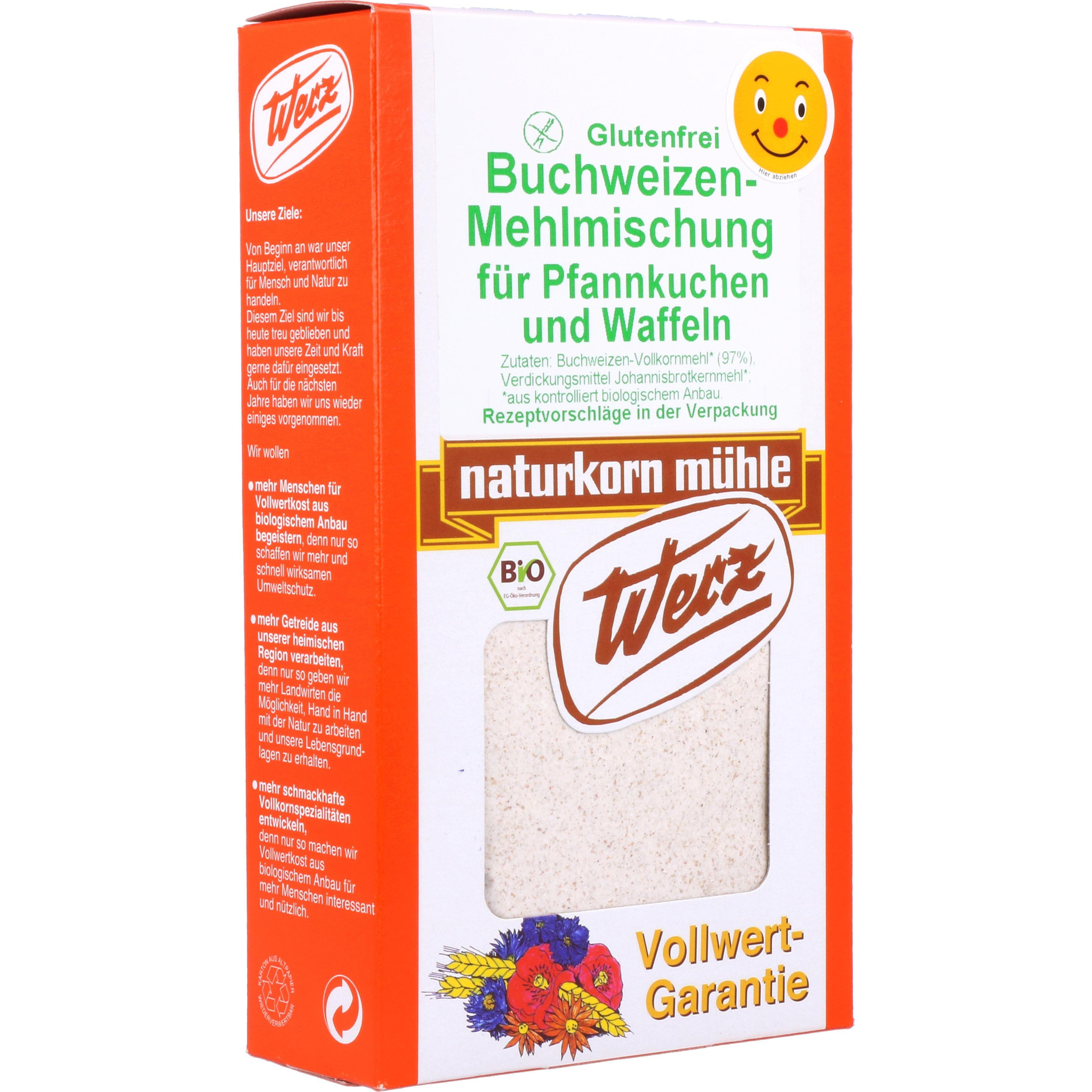 Werz Bio Buchweizen-Mehlmischung für Pfannkuchen und Waffeln 250g