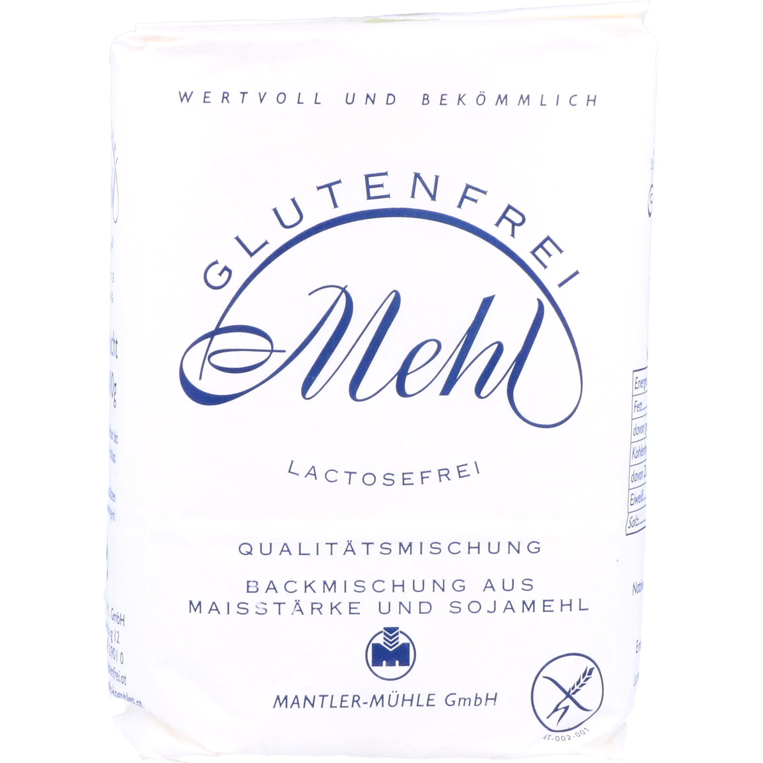 Mantler Glutenfreies lactosefreies Mehl 1000g