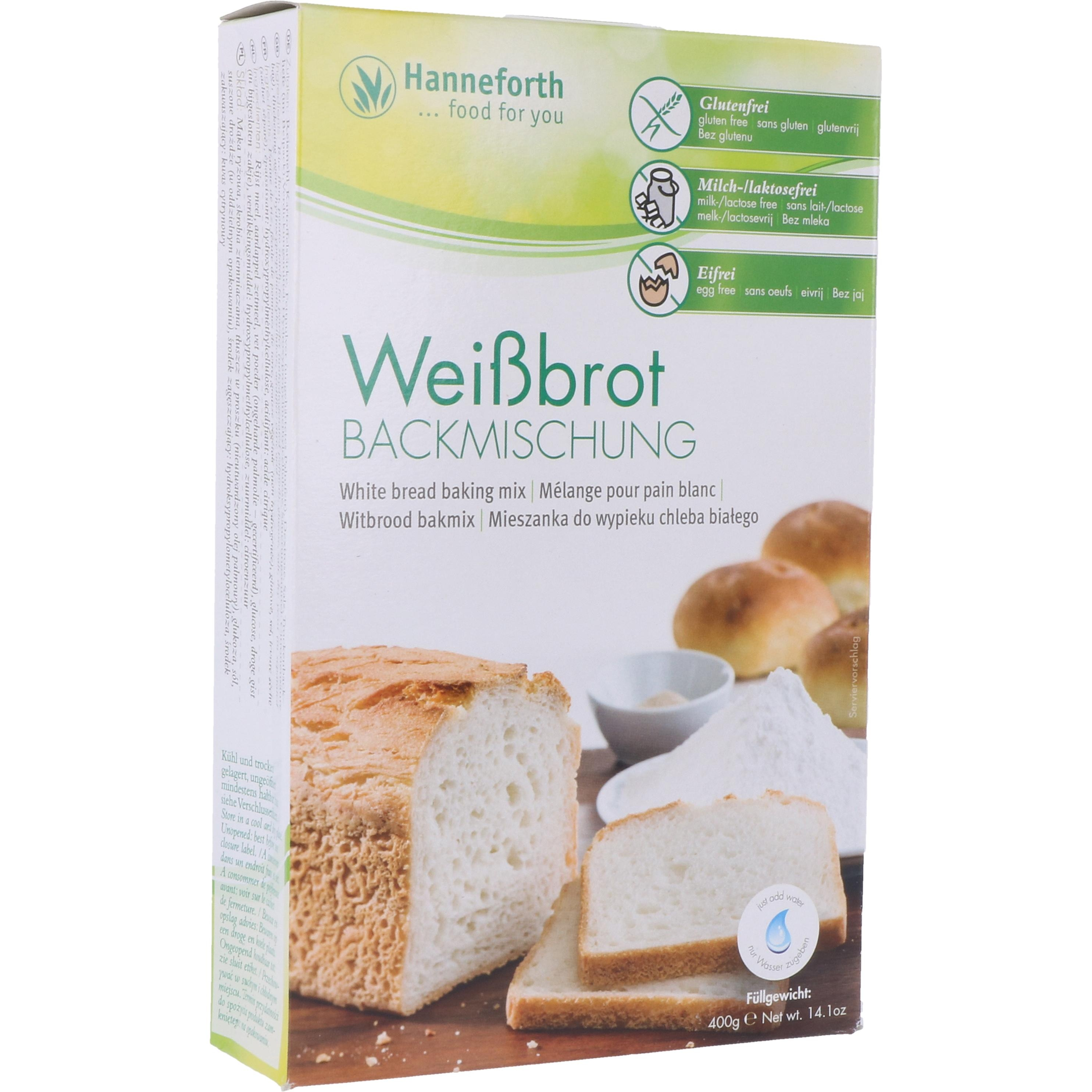 Hanneforth, food for you Backmischung Weißbrot 400g