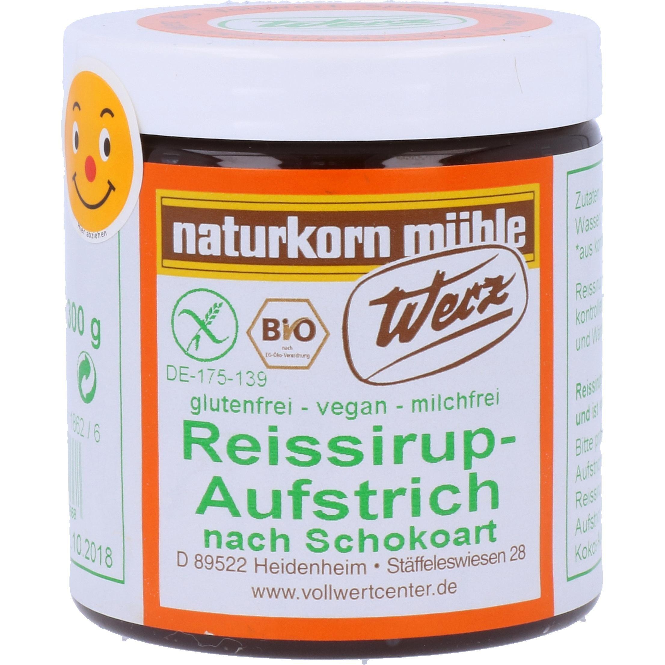 Werz Bio Reissirup Aufstrich nach Schokoart 300g