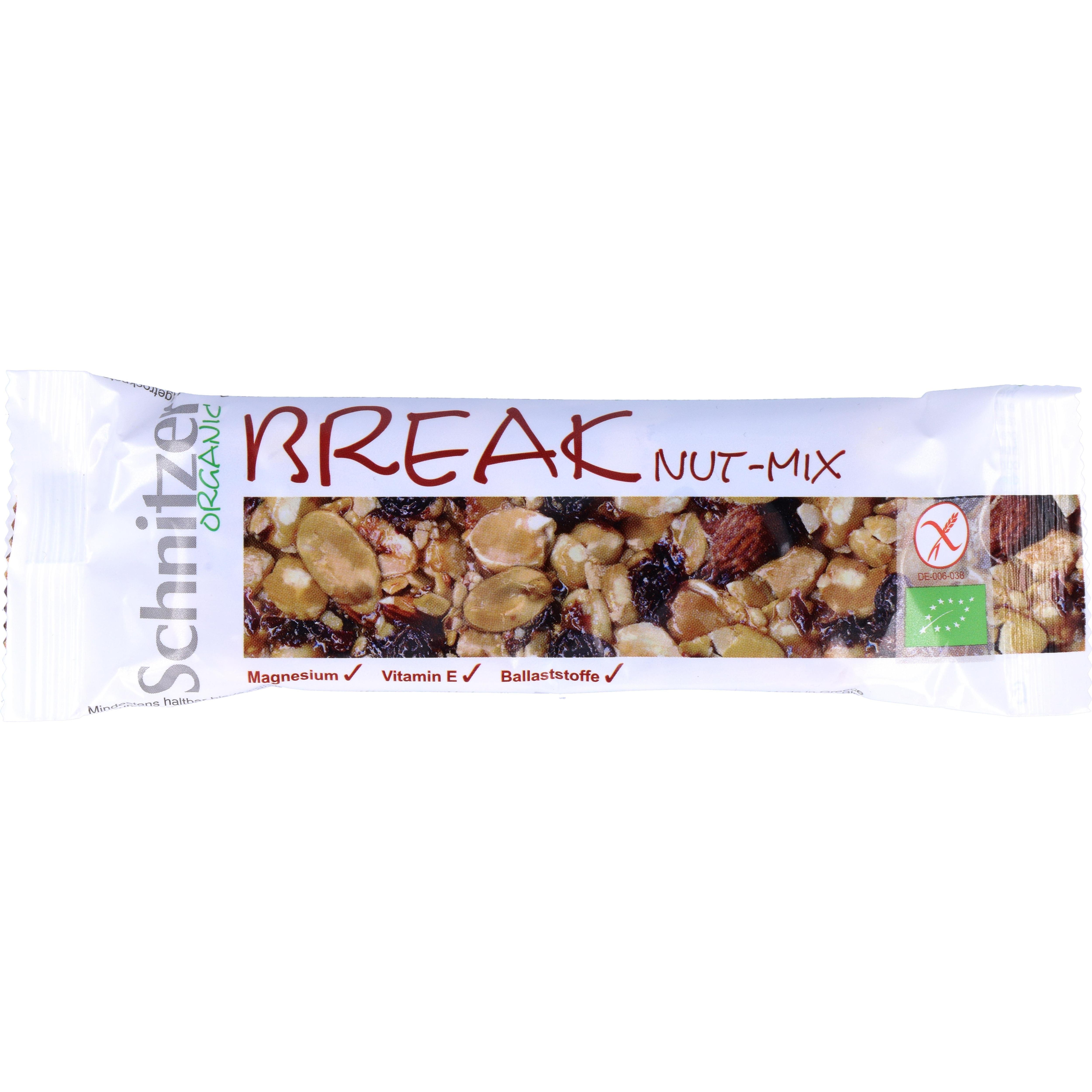 Schnitzer Bio Nut - Mix Nussmixriegel Break 40g