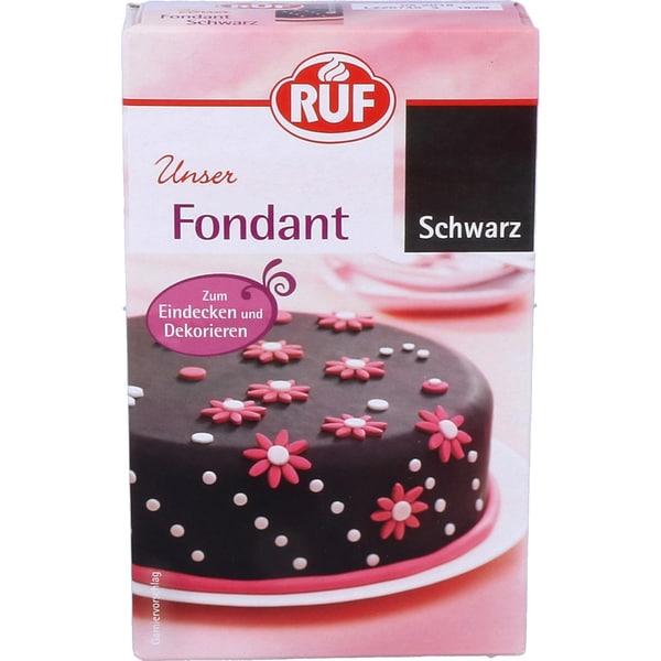 Ruf Fondant Schwarz 250g
