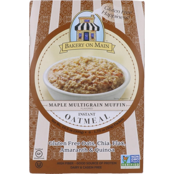 Bakery on Main Maple Multigrain Muffin Instant Oatmeal - Ahorn-Vollkornmuffin-H 300g