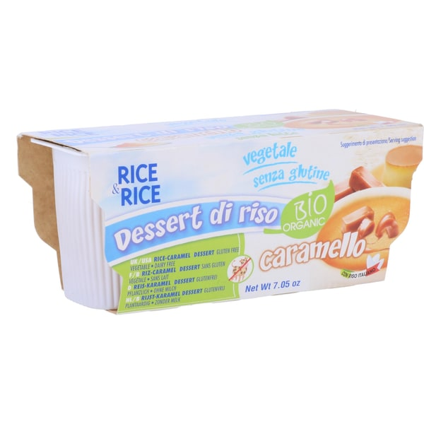 Probios Bio Rice & Rice Dessert Caramel 200g