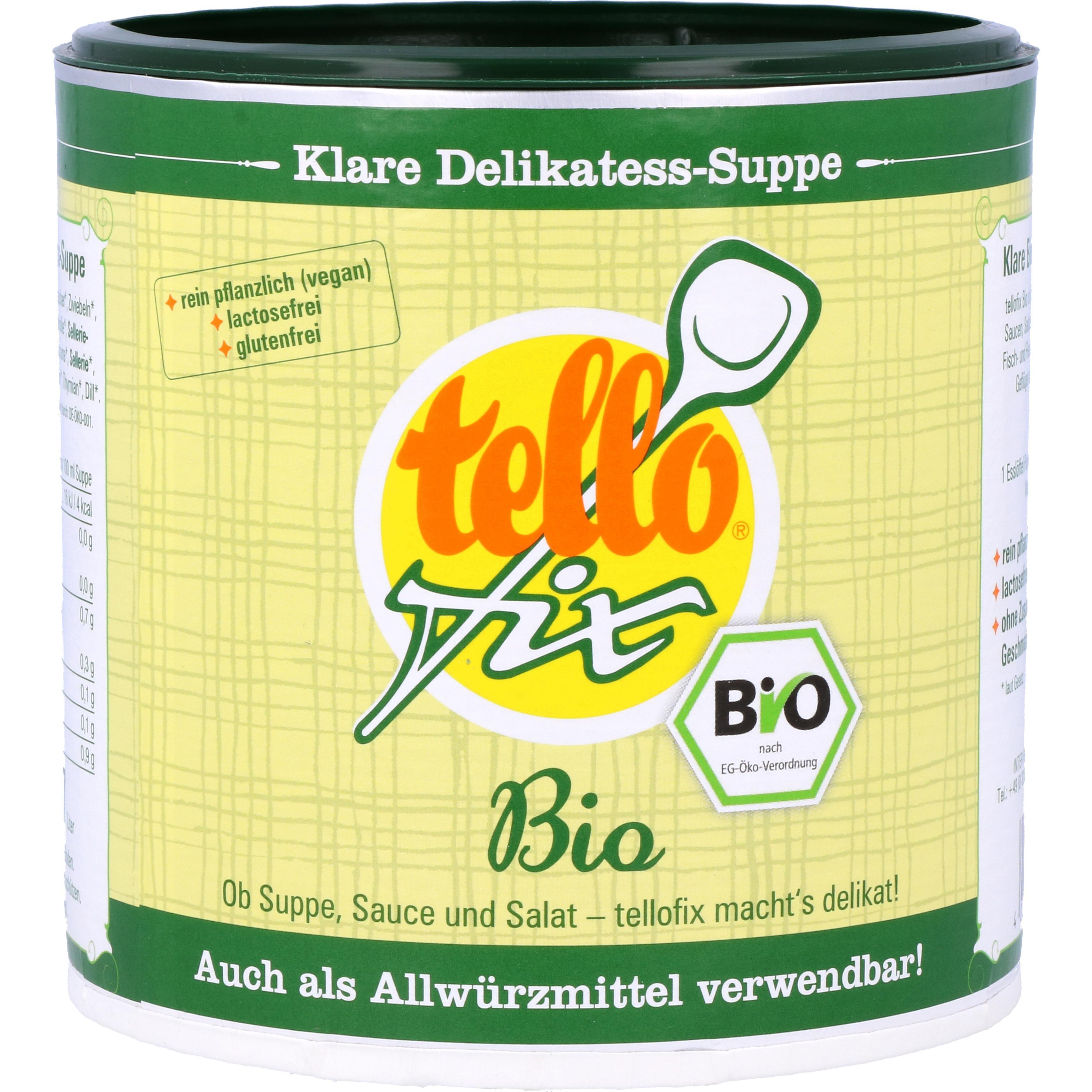 Inter-Planing GmbH Bio Tellofix Delikatess-Suppe und Allwürzmittel 340g