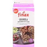 Finax Granola Jordgubbar och Fläder Erdbeer-Holunder-Müsli 450g